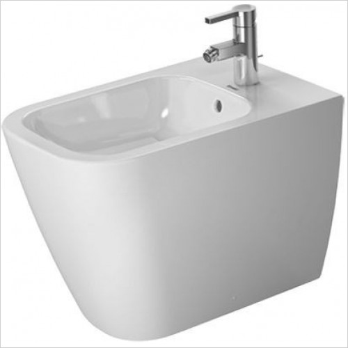 Duravit - Toilets - Happy D.2 Bidet Floor St 570mm 1TH Back To Wall