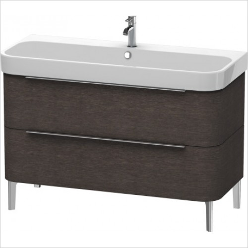 Duravit Furniture - Happy D.2 Vanity Unit Freestanding 1175, F 231812, 2 Drawer