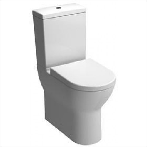Vitra Toilets - S50 Comfort Height Close-Coupled WC Pan