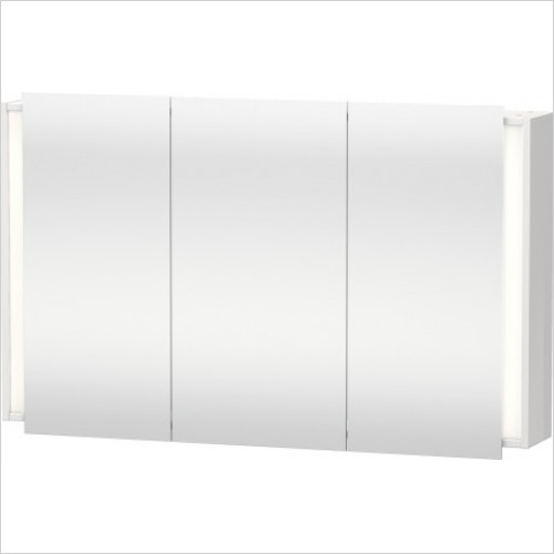 Duravit Furniture - Ketho Mirror Cabinet 1200x750mm - KT7533 - White High Gloss