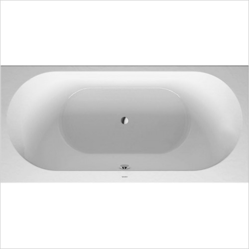 Duravit Baths - Darling New Bathtub 1900x900mm Built-In Incl Support Frame