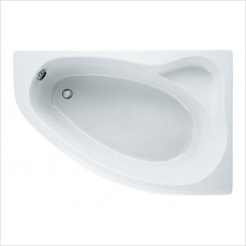 Adamsez Baths - Arc Shower Bath 1500x1000mm RH