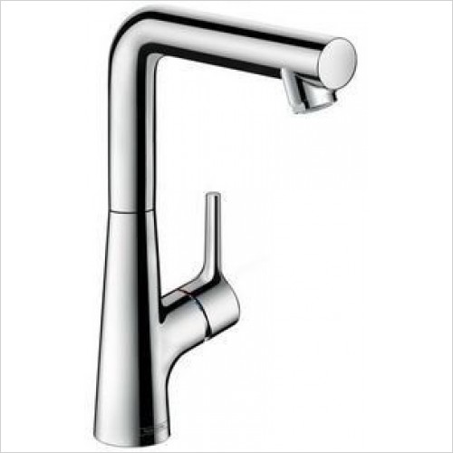 Hansgrohe Taps - Talis S Single Lever Basin Mixer 210, Pop-Up Waste