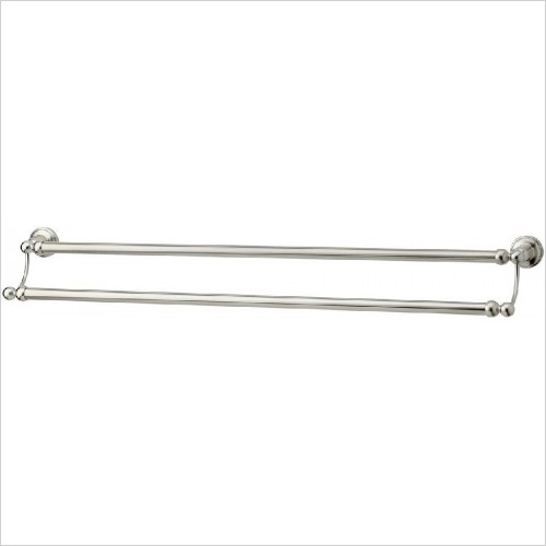 Perrin and Rowe Accessories - Traditional 762mm Double Towel Rail