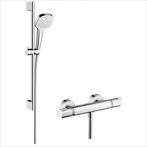 Hansgrohe Showers - Croma Select E Vario Shower Set and Valve 650mm