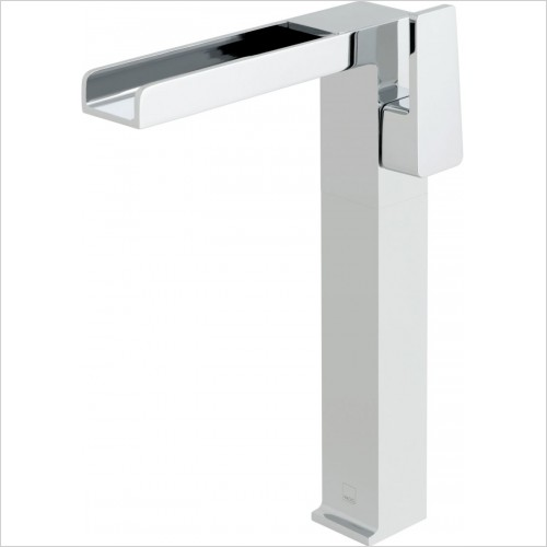 VADO Taps - Synergie Progressive Extended Mono Basin Mixer Single Lever