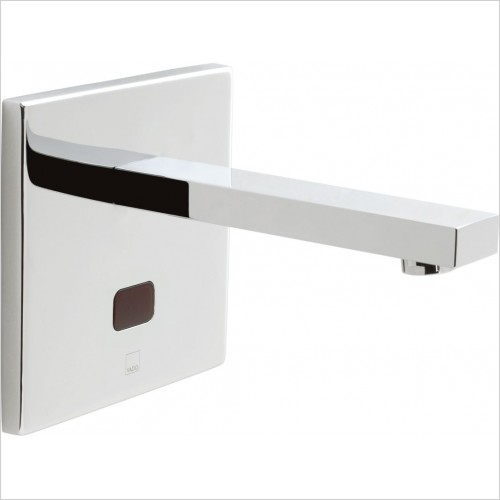 VADO Taps - I-Tech Notion Infra-Red Basin Mixer Wall Mounted