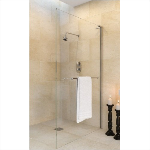 Matki Shower Enclosures - Wet Room Panel 900mm