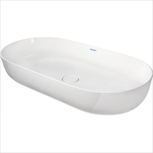 Duravit - Basins - Luv Washbowl 800mm Ground Outer Basin