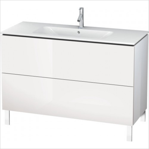 Duravit Furniture - L Cube Vanity Unit Freestanding 1220 F 233612, 2 Drawer