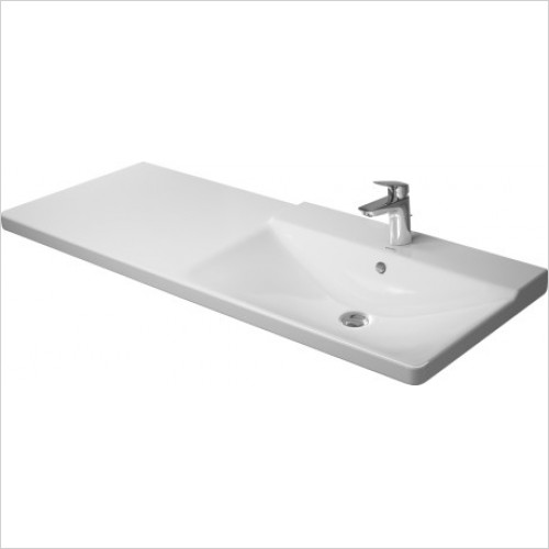 Duravit - Basins - Furniture Washbasin 1250mm P3 Comforts