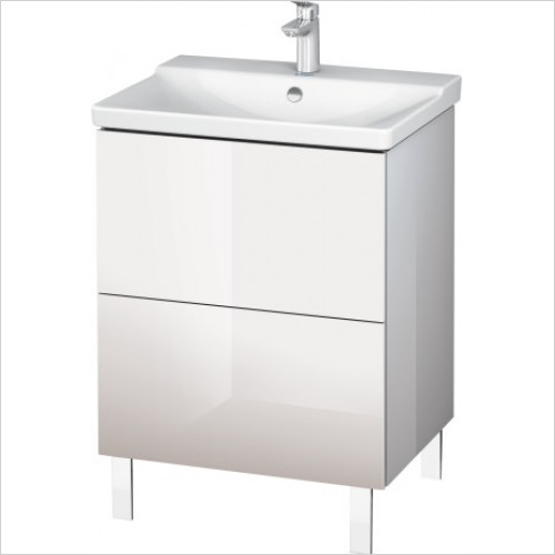 Duravit Furniture - L-Cube Vanity Unit Floorstanding 709x620x481mm