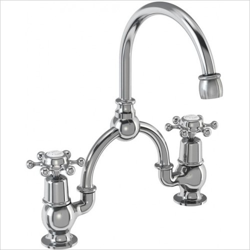 Burlington Taps - Birkenhead Bridge Basin Mixer With Overflow