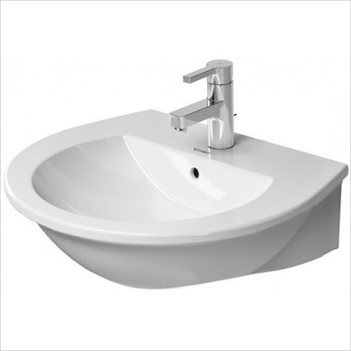 Duravit - Basins - Darling New Washbasin, 550 x 480mm - 1 Tap Hole