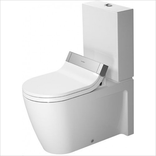 Duravit - Toilets - Starck 2 Toilet Close-Coupled 720mm Vario Outlet Washdown