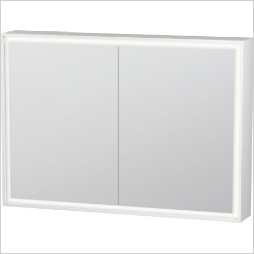 Duravit Furniture - L Cube Mirror Cabinet With Lighting 1000mm