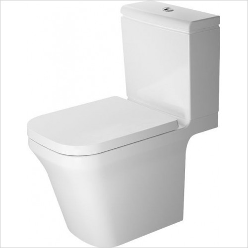 Duravit - Toilets - P3 Comforts Toilet Close Coupled 650mm Horizontal Outlet
