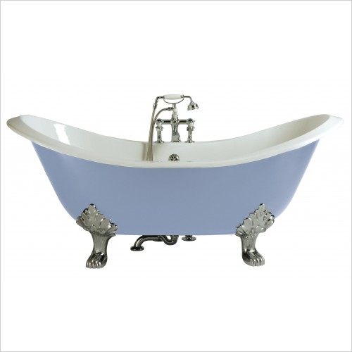 Heritage Bathtubs - Devon Freestanding Double Ended Slipper Bath NTH