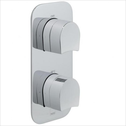 VADO Showers - Kovera Vertical Concealed Thermostatic Valve