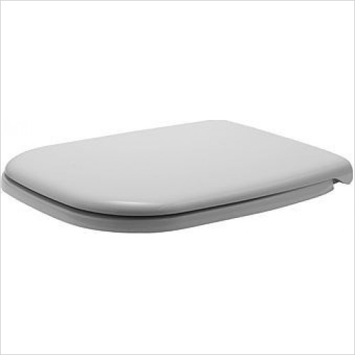 Duravit Toilet Seats - D-Code Seat & Cover With Softclose