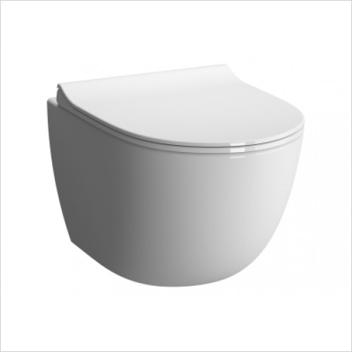 Vitra Toilets - Sento Compact Wall Hung WC Pan