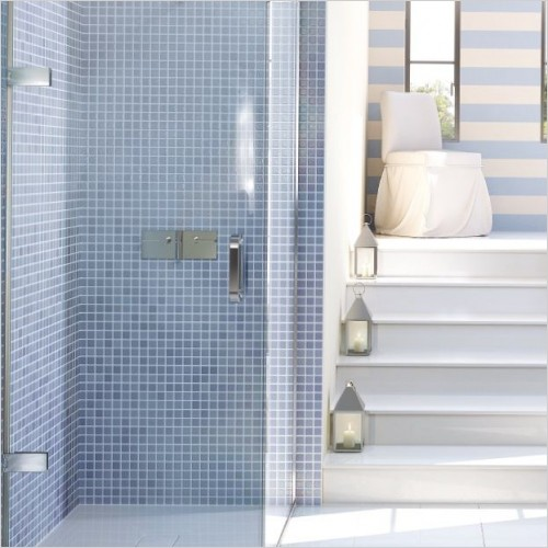 Showers with Pivot Doors