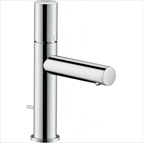 Axor Taps - Uno Single Lever Basin Mixer 110 Zero Handle, Pop-Up Waste