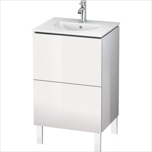 Duravit Furniture - L Cube Vanity Unit Freestanding 520, F 049953, 2 Drawer