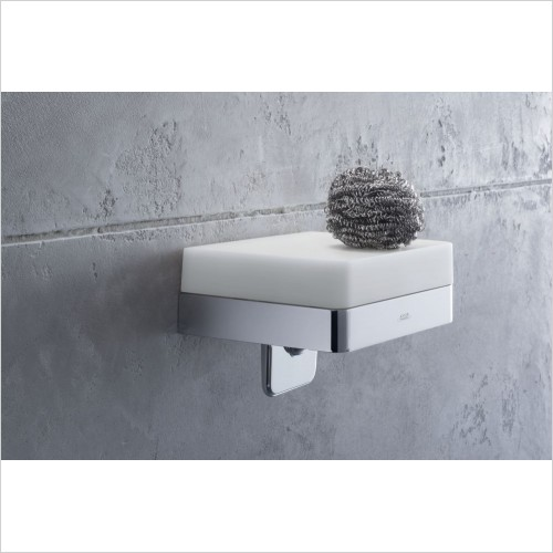 Axor Accessories - Universal Accessories Soap Dispenser With Shelf