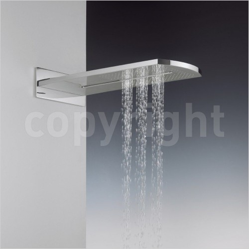 Crosswater Showers - Elite Fixed Shower Head With Waterfall