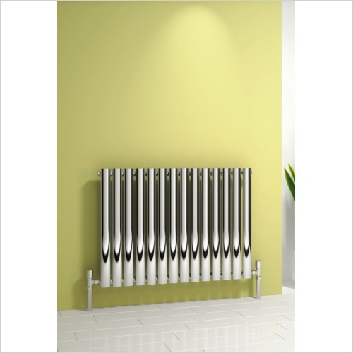 Reina Radiators - Nerox Single Radiator 600 x 1003mm - Dual Fuel