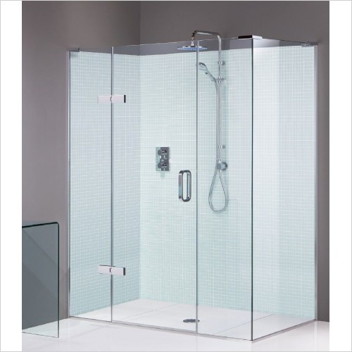Matki Shower Enclosures - Hinged Door EPIC Side Panel 700mm