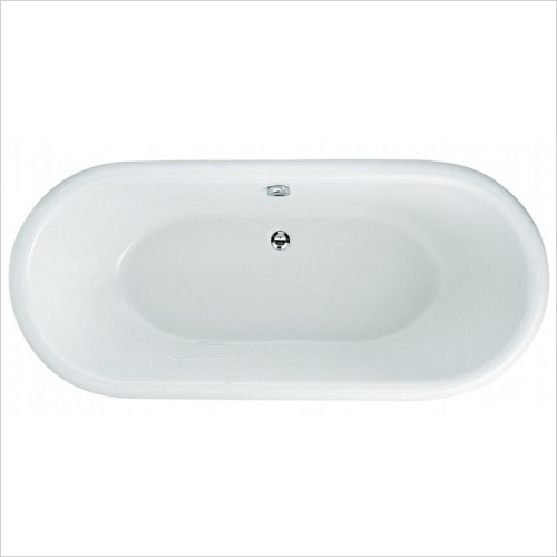 Adamsez Baths - Portobello Freestanding Bath 1765x780mm - Aluminium Feet