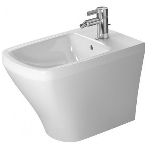 Duravit - Toilets - DuraStyle Bidet Floorstanding 570mm 1TH Back To Wall
