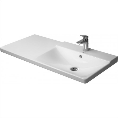 Duravit - Basins - P3 Comforts Furniture Washbasin 1050mm Bowl On Right 3TH