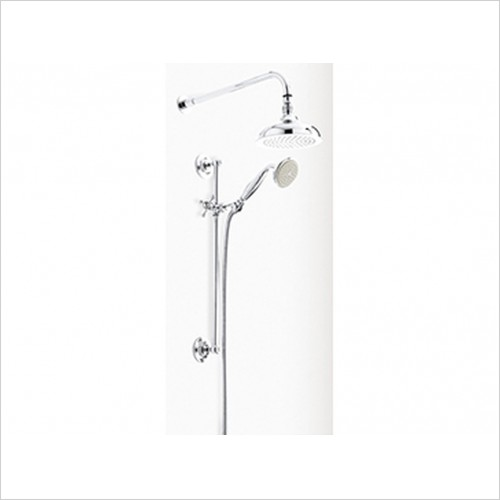 Heritage Showers - Dawlish Dual Control Recessed Shower Valve