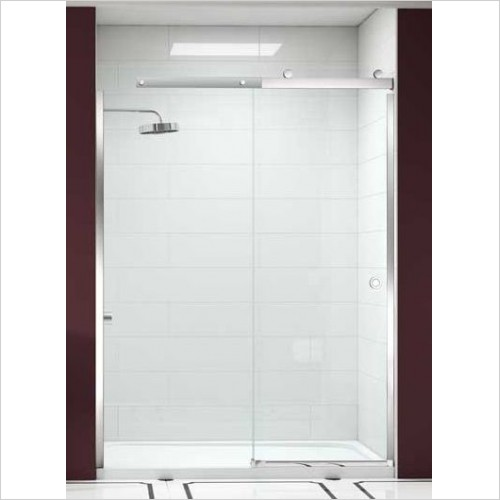 Merlyn Shower Enclosures - 10 Series Sliding Door 1200mm LH Incl MStone Tray