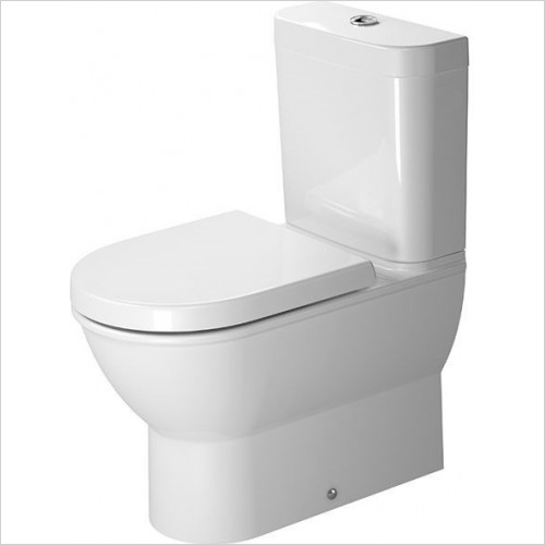 Duravit - Toilets - Darling New Toilet Close-Coupled 630mm Washdown