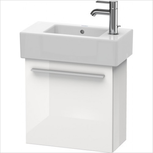 Duravit Furniture - X-Large Vanity Unit Wall Mounted Left Hand - White High Glos