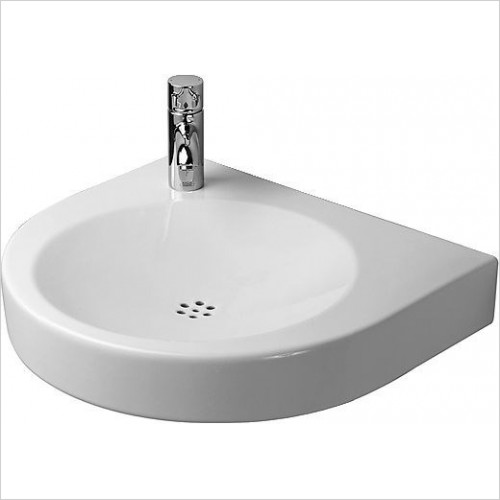 Duravit - Basins - Architec Series Washbasin, 1TH Right Hand