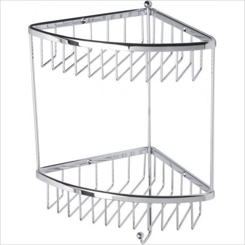 Roper Rhodes Accessories - Madison Double Corner Basket