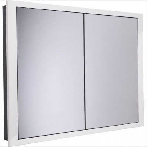Roper Rhodes Furniture - Scheme 1000 x 75mm Recessed Mirrored Bathroom Cabinet