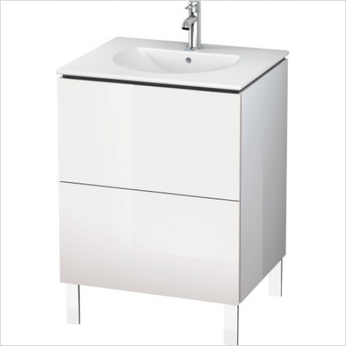 Duravit Furniture - L Cube Vanity Unit Freestanding 620, F 049963, 2 Drawer
