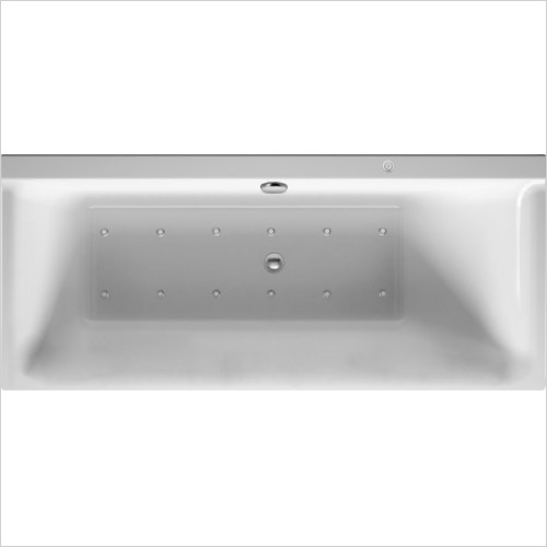 Duravit Baths - P3 Comforts Whirltub 1600x700mm, , Built-In Or For Panel