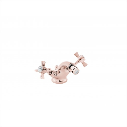 Heritage Taps - Dawlish Bidet Mixer Tap in Rose Gold