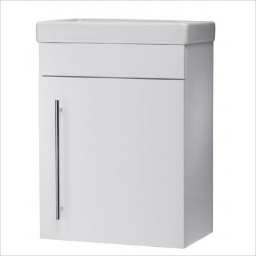 Roper Rhodes Furniture - Esta 450mm Cloakroom Wall Mounted Bathroom Vanity Unit