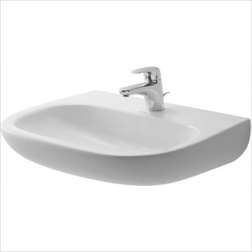 Duravit - Basins - D-Code Washbasin 600mm Med 1TH