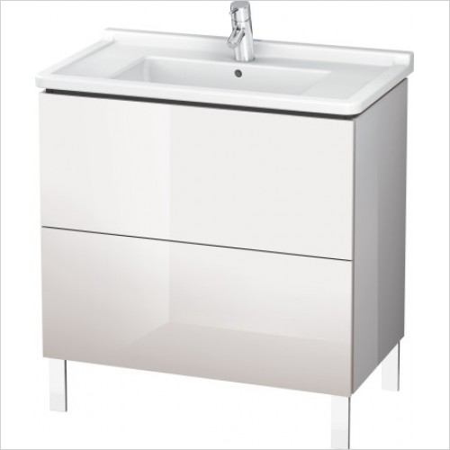 Duravit Furniture - L Cube Vanity Unit Freestanding 820, F 030480, 2 Drawer