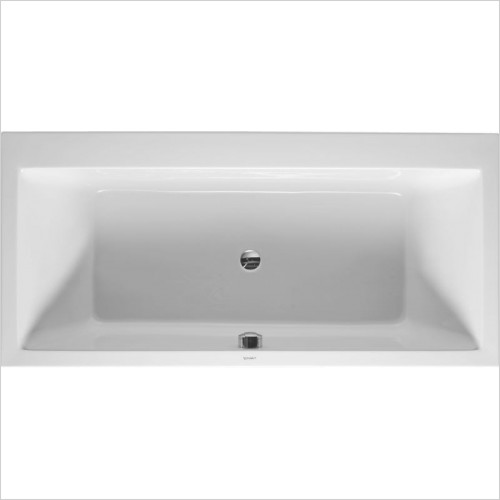 Duravit Baths - Vero Bathtub 1900x900mm 2 Slopes Built-In Incl Feet