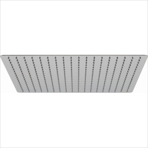 VADO Showers - Aquablade Slimline Square Shower Head, 500mm (20'')